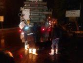 تمركز 30 سيارة لشفط مياه الأمطار فى مطالع ومنازل كبارى وأنفاق القاهرة