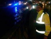 صور...انتشار رجال المرور و الحماية المدنية على الطريق الدائرى لشفط مياه الأمطار