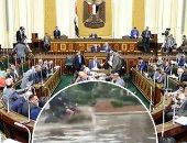 """""""محلية البرلمان"""" فى طلب إحاطة للحكومة بسبب السيول: غرقنا فى شبر مياه"""
