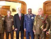 وصول قائد الجيش الوطنى الليبى المشير خليفة حفتر بنغازى
