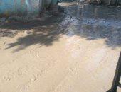 قارئ يشكو من الوحل بالطريق الرئيسى لقرية الطرفاية البدرشين فى الجيزة