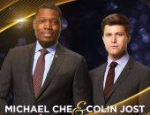 مايكل تشاى وكولين جوست يقدمان حفل جوائز Emmys  الـ 70