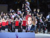 صور.. وزير الرياضة يفتتح البطولة الأفريقية للجمباز.. ومحمد رشاد يشارك بأغنية