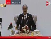 حفتر: لن نتوقف عن ملاحقة الإرهابيين حتى يتحقق مستقبل أفضل للشعب الليبى