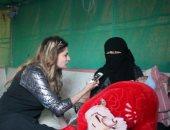فيديو.. يمنية تروى مأساة نزوحها برضيع عمره أيام هربا من إرهاب الحوثيين
