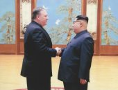 لأول مرة واشنطن تنشر صورا تجمع مايك بومبيو بزعيم كوريا فى بيونج يانج