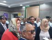 صور.. وفد من لجنة الصحة بالبرلمان يتفقد مستشفى سفاجا المركزى بالبحر الأحمر