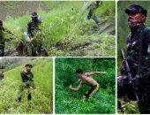 الجيش الإندونيسى يداهم مزارع الماريجوانا للقضاء على صناعة المخدرات