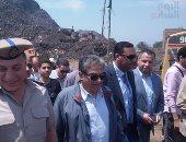 وزير البيئة: معدات بنصف مليار جنيه نواة لمنظومة المخلفات الجديدة