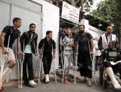"""صور.. رصاص الاحتلال يجبر عشرات الفلسطينيين على استكمال حياتهم بـ""""العكاز"""""""