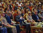 السيسي: المصريون لا يٌحملون أهالينا فى سيناء مسئولية الإرهاب وأهل الشر - صور