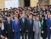فيديو وصور.. نقيب المحامين وزكى بدر يشاركان حقوق القاهرة في الاحتفال بخريجيها