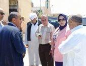 وكيل صحة الإسكندرية تزور وحدة صحة أسرة أبو صير التابعة لإدارة برج العرب الطبية