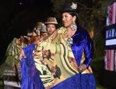 """عرض أزياء بتصميم الهندسة المعمارية للمبدع """"إيمارا"""" فى بوليفيا"""
