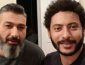"""ياسر جلال ومحمد سلامة يهنئان أبطال فيلم """"حرب كرموز"""""""