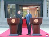 ننشر صورا جديدة للقمة التاريخية بين الكوريتين لبحث نزع السلاح النووى
