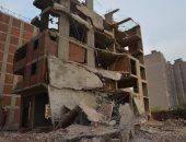 إخلاء عقارات خطرة وتسكين 57 أسرة بحى منشأة ناصر