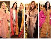 صور .. عرض أزياء لنجمات الفن وسيدات المجتمع