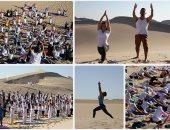 من قلب صحراء المكسيك.. اليوجا من أجل السلام النفسى