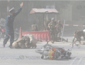 مقتل وإصابة 23 شخصًا جراء وقوع 3 انفجارات فى أفغانستان