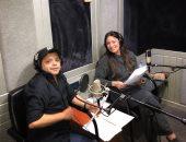 """أول صور لمحمد هنيدى ونرمين الفقى بمسلسلهما الإذاعى """"لحن بتلو"""""""