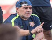مارادونا يعود لتدريب الفجيرة الإماراتى بعد 48 ساعة من الإقالة