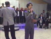 """""""واه يا عبد الودود"""" تلهب حماس الجمهور فى اُمسية العريش الفنية"""