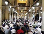 صور.. الآلاف يحضرون مجلسا للحديث النبوى بالجامع الأزهر بليلة النصف من شعبان
