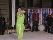 """فيديو وصور.. فيفى عبده ترقص فى ختام مهرجان """"صاجات"""""""