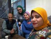 """فيديو.. 4 فتيات ينظمن معارض """"جانا رمضان"""" لتخفيض الأسعار بكفر الشيخ للعام الثانى"""