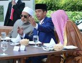 الرئيس الإندونيسى يقيم مأدبة غداء للإمام الأكبر