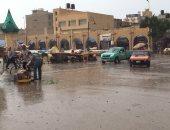 هطول أمطار غزيرة على مدينة العريش