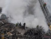 صور.. مقتل شخص وإصابه 3 آخرين فى انهيار مبنى يتكون من 26 طابقا بالبرازيل