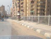 صور.. قارئ يطالب بوقف أعمال سرقة السور الحديدى بكوبرى الناموس فى الإسكندرية