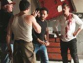 """بيتر ميمى ينشر صورة من كواليس تصوير فيلم """"حرب كرموز"""""""