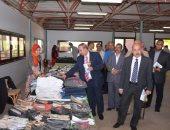 صور.. رئيس جامعة أسيوط يفتتح المعرض الخيرى السنوى الثالث للملابس الجاهزة