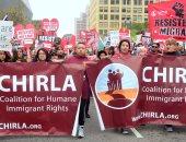 صور.. مسيرات لعمال أمريكا تندد بسياسات ترامب المتعلقة بالهجرة