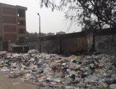 تلال القمامة تحاصر مدرسة إعدادية بمدينة قباء فى السلام ومطالب بتطهير المكان