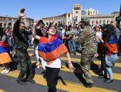 تظاهر الآلاف لدعم رئيس الوزراء فى مكافحة الفساد بأرمينيا