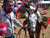 """صور.. انطلاق مهرجان """" الحمير"""" فى بلدة أوتومبا المكسيكية"""