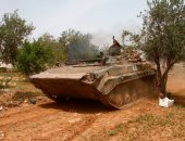 العثور على مواد شديدة الانفجار وقذائف وأسلحة من مخلفات الإرهابيين بحمص