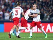 تأجيل مباراة سالزبورج ضد فرانكفورت في الدوري الأوروبي بسبب إعصار نمساوى