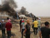 الحرائق الضخمة قرب المستوطنات الإسرائيلية تسبب تشويشا على مطار بن جوريون