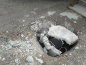 قارئ يرصد بلاعة بدون غطاء فى شبرا الخيمة ويطالب بتغطيتها قبل سقوط ضحايا