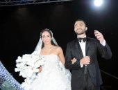 """صور .. الوزراء ونجوم الفن والمشاهير يحتفلون بزفاف """"عادل صدقى"""" و""""ملك كيرة"""""""