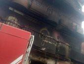 السيطرة على حريق داخل منزل فى الصف دون إصابات