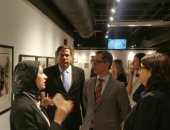 صور.. سفير سويسرا يزور مكتبة الإسكندرية ويبدى إعجابه بمقتنايتها
