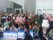 سفر 6 طلاب من مدرسة المتفوقين بكفر الشيخ لأمريكا للمشاركة فى مسابقة علمية
