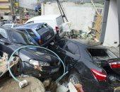 فيديو وصور.. السيول تعطل الحياة فى تركيا وتدمر عشرات السيارات