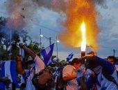 صور.. تجدد المظاهرات فى نيكاراجوا للقصاص من قتلة 42 متظاهرا الأسبوع الماضى
